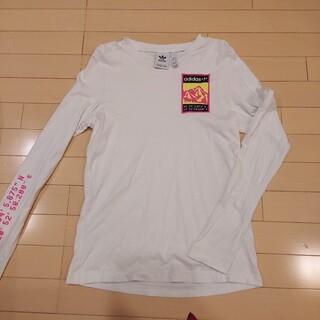 adidas - adidasロングTシャツ