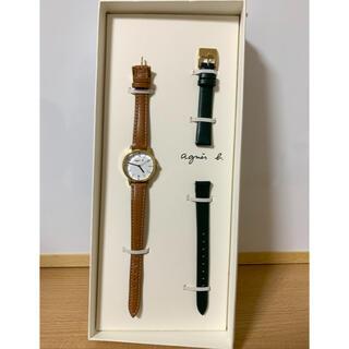 agnes b. - agnes b. レディース腕時計 替えベルト付