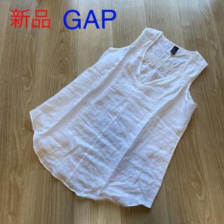 ギャップ(GAP)の【新品】GAP ノースリーブ ブラウス(シャツ/ブラウス(半袖/袖なし))