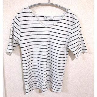 ロペピクニック(Rope' Picnic)のロペピクニック  ボーダー Tシャツ M(Tシャツ(半袖/袖なし))