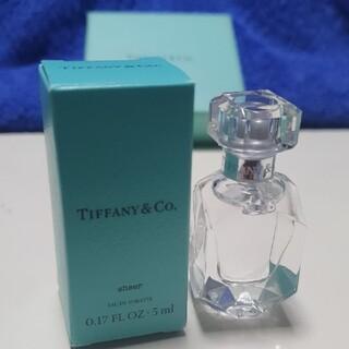 ティファニー(Tiffany & Co.)の豪華香水瓶仕様!ティファニーミニ香水/シアーオードトワレ 5ml(ユニセックス)