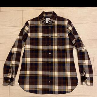 美品 INED チェックシャツ