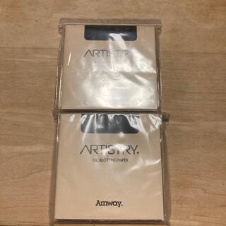 アムウェイ(Amway)の値下げ❣️アーティストリーオイルブロッティングペーパー50枚入6パック×2セット(あぶらとり紙)