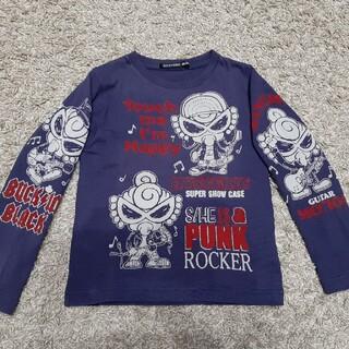 ヒステリックミニ(HYSTERIC MINI)のヒステリックミニ 長袖 シャツ 美品 100 90 ロンティー トップス(Tシャツ/カットソー)