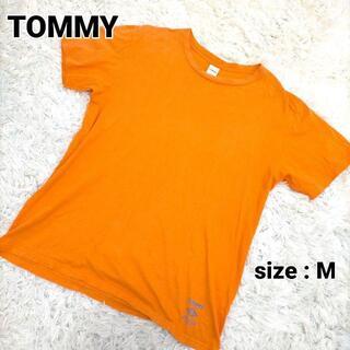 EATME - トミー Tシャツ オレンジ 古着 メンズ Mサイズ a287