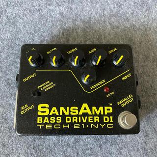 TECH21 Sansamp/Bass Driver DI ジャンク品(ベースエフェクター)