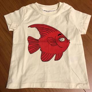 コドモビームス(こども ビームス)のmini rodini ミニロディーニ Tシャツ サイズ80-86(Tシャツ)