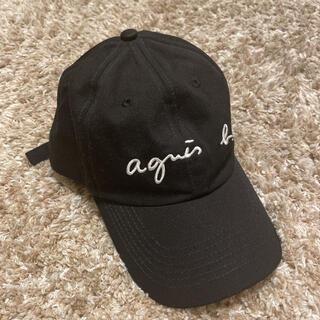 agnes b. - キャップ 帽子 黒 アニエスべー