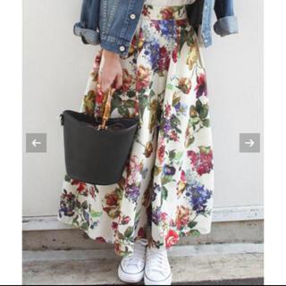 リミットレスラグジュアリー(LIMITLESS LUXURY)のリミットレスラグジュアリー 花柄フレアスカート(ロングスカート)