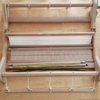 キワセイサクジョ(貴和製作所)の卓上手織り機◆【AVRILアヴリル】◆ 60センチ巾◆固定式織機ニュータイプ◆(生地/糸)