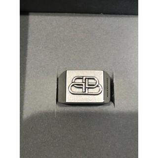 バレンシアガ(Balenciaga)のBALENCIAGA ロゴ リング (リング(指輪))