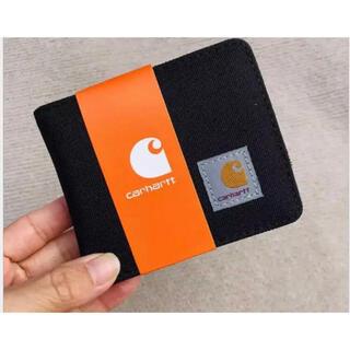 カーハート(carhartt)の箱あり カーハート Carhartt 財布 ウォレット ブラック(折り財布)