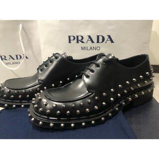 プラダ(PRADA)のPRADA 牛革 ダービー スタッズ シューズ(ドレス/ビジネス)