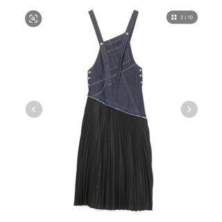 ぷよぷよママ様専用 デニムオーバーオールリメイクジャンパースカート