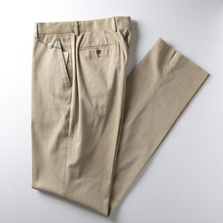 ジョルジオアルマーニ(Giorgio Armani)の[新品タグ付き] ジョルジオ アルマーニ 高級 スラックス パンツ 定価約12万(スラックス)