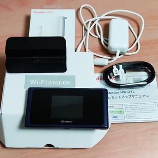 ファーウェイ(HUAWEI)の【docomo】wifiルーター HW-01L クレードセット(その他)