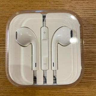 アップル(Apple)のアイフォン イヤフォン(ヘッドフォン/イヤフォン)