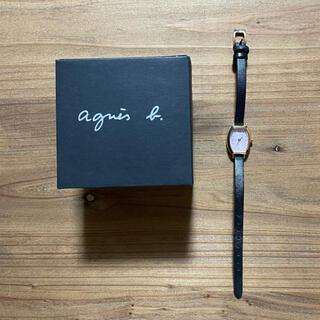 agnes b. - 腕時計 アナログ agnes b.  ブラック