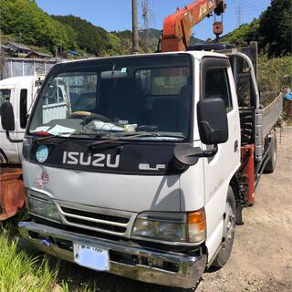 イスズ(いすゞ)の関西発 2トンユニック トラック 車検残り有(車体)