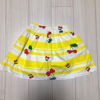 エフオーキッズ(F.O.KIDS)のALGY さくらんぼ柄 スカート 140(スカート)
