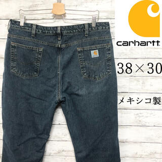 carhartt - 【ゆるダボ】38×30 カーハート デニム ジーンズ 希少 メキシコ製 パンツ