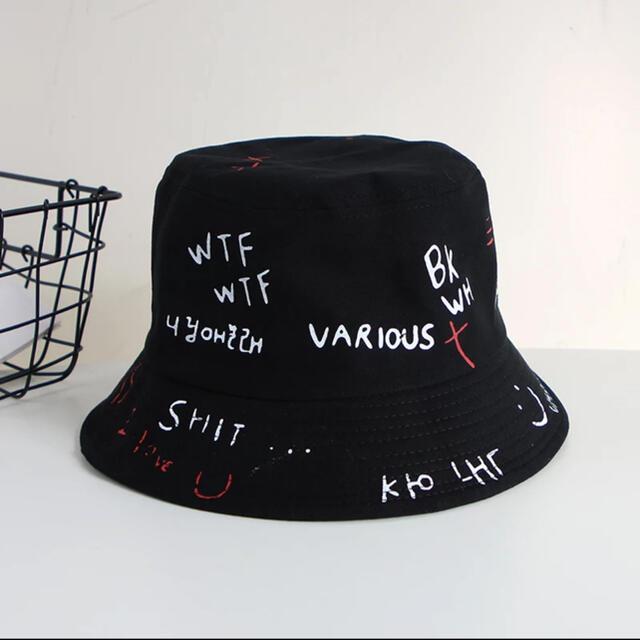 ZARA(ザラ)の[お取り寄せ]大人気⭐️ロゴアートバケツハット レディースの帽子(ハット)の商品写真