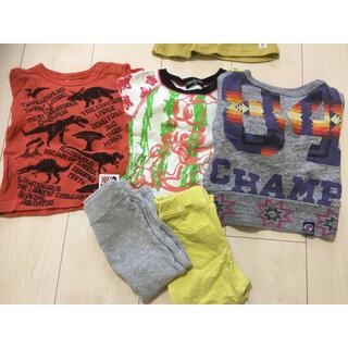 エフオーキッズ(F.O.KIDS)のまとめ売り 長袖トレーナー Tシャツ ズボン 80㎝ 男の子(シャツ/カットソー)