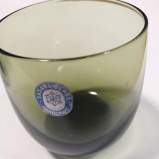 トウヨウササキガラス(東洋佐々木ガラス)の昭和 レトロ グラスカップ 3個セット 佐々木グラス(グラス/カップ)