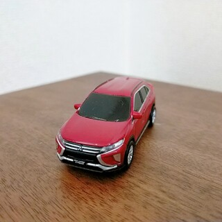 ミツビシ(三菱)の三菱 自動車 ミニカー ECLIPSE CROSS 赤 チョロQ ライトつく(ミニカー)