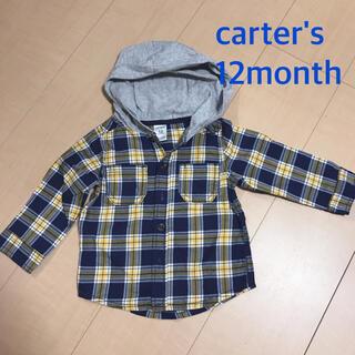 カーターズ(carter's)の【最終値下げ】これからの季節に!未使用!カーターズ12month 70〜80(シャツ/カットソー)