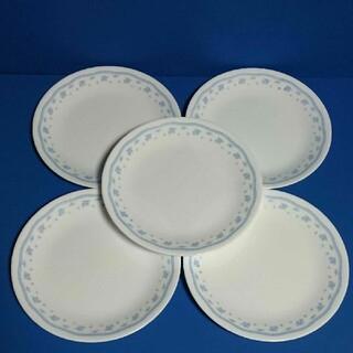 コレール(CORELLE)のコレール モーニングブルー  プレート 中皿  5枚セット(食器)
