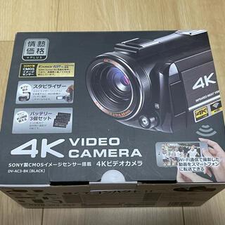 SONY - 4K ビデオカメラ  DV-AC3-BK  SONY製CMOSセンサー使用