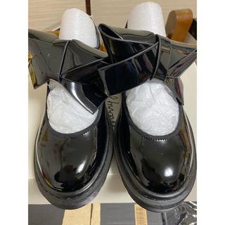 メリージェニー(merry jenny)のmerry jenny リボンラバーシューズ(ローファー/革靴)