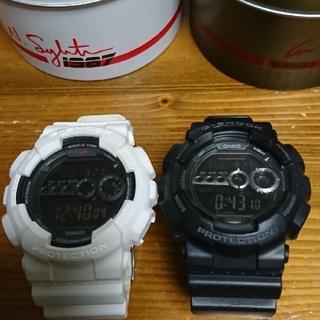 ジーショック(G-SHOCK)のCASIO  G-SHOCK  二点セット(腕時計(デジタル))