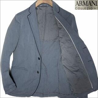 ARMANI COLLEZIONI - J3549 アルマーニコレッツォーニ コードレーン テーラードジャケット 48
