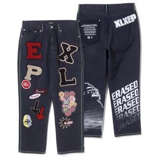 XLARGE - XLARGE × ERASED  パンツ