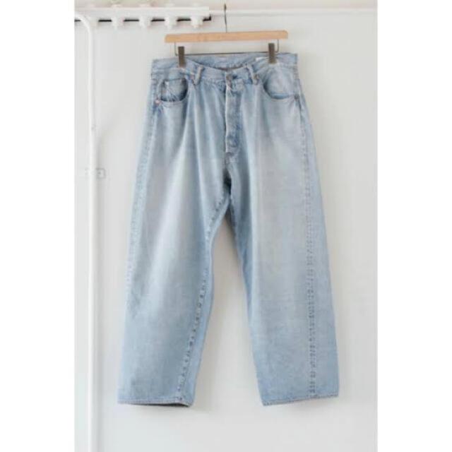 COMOLI(コモリ)の21ss comoli 5Pデニム ブリーチ メンズのパンツ(デニム/ジーンズ)の商品写真
