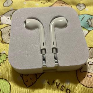 アイポッドタッチ(iPod touch)のApple 純正 イヤホン(i pod toch) 未使用(ヘッドフォン/イヤフォン)