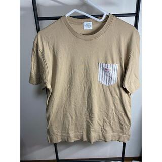 コーエン(coen)のcoen ブラウン半袖Tシャツ/coen ブラウン 半袖Tシャツ 半袖 夏服(Tシャツ/カットソー(半袖/袖なし))