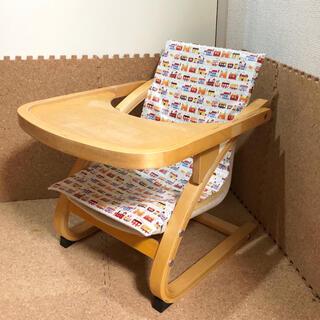 KATOJI - カトージ リラックスベビーチェア テーブル付 木製ローチェア ベビーチェア
