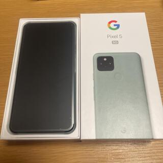 グーグル(Google)のGoogle pixel5 SIMロック解除済au(スマートフォン本体)