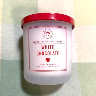 Francfranc - DW home white chocolate キャンドル チョコレート