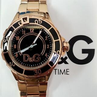 ドルチェアンドガッバーナ(DOLCE&GABBANA)の訳あり未使用品 D&G レディース  「アンカー」 ローズゴールド ドルガバ(腕時計)