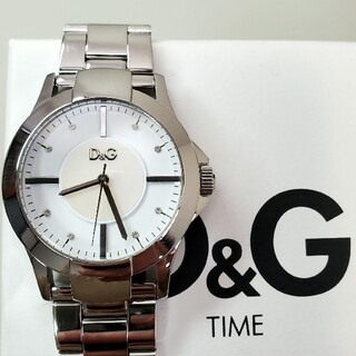 ドルチェアンドガッバーナ(DOLCE&GABBANA)の美品 ドルガバ 「テキサス」 レディース腕時計(腕時計)