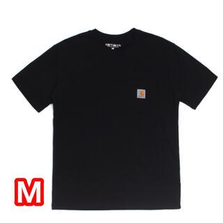 carhartt - 新品未使用 CARHARTT 人気 ポケット付き Tシャツ 黒 Mサイズ