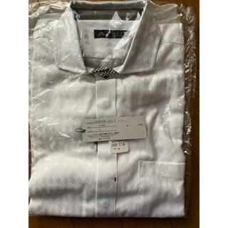 メンズメルローズ(MEN'S MELROSE)のメンズメルローズ 長袖シャツ 白シャツ(シャツ)