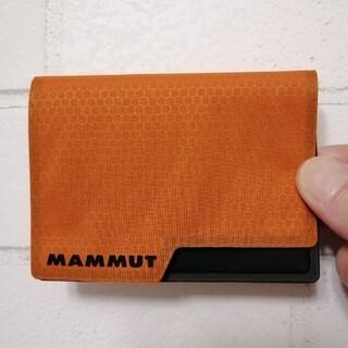 マムート(Mammut)の【新品】MAMMUT Smart Wallet Ultralight オレンジ(登山用品)