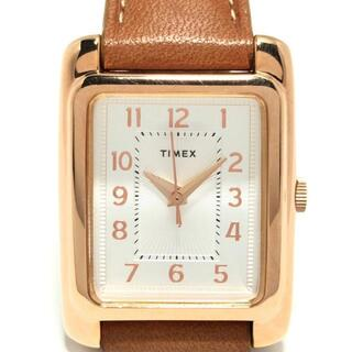 タイメックス(TIMEX)のタイメックス メリデン TW2R89500 シルバー(腕時計)