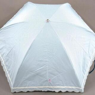 ラルフローレン(Ralph Lauren)のラルフローレン - ライトブルー×白(傘)