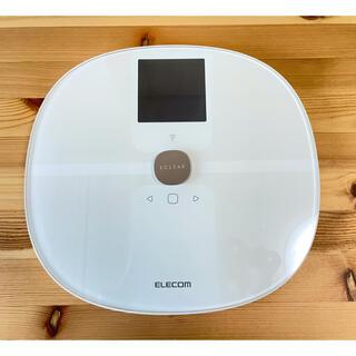 エレコム(ELECOM)のエレコム Wi-Fi通信機能搭載 エクリア体組成計(体重計/体脂肪計)